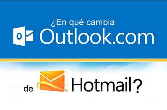 Que cambio hotmail con outlook